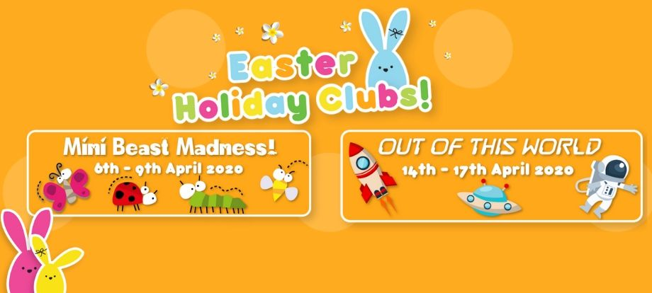 KOOSA Kids Easter Holiday Clubs, 6th to 17th April 2020. High quality, affordable childcare & FUN. All 4-13 year-olds invited.