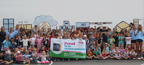 Proud to be an Ofsted Outstanding Provider!