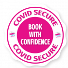 CVD SECURE STICKER